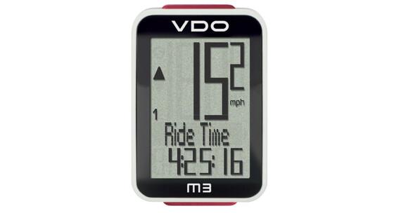 VDO M3 WL Cykelcomputer digital sort